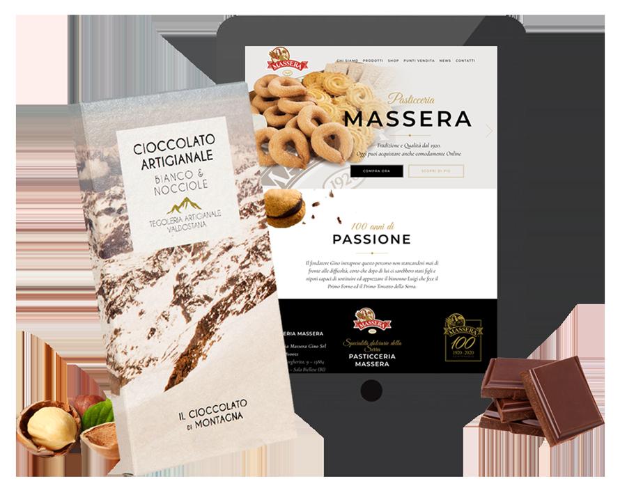 Realizzazione siti web Food - pubblicità - grafica