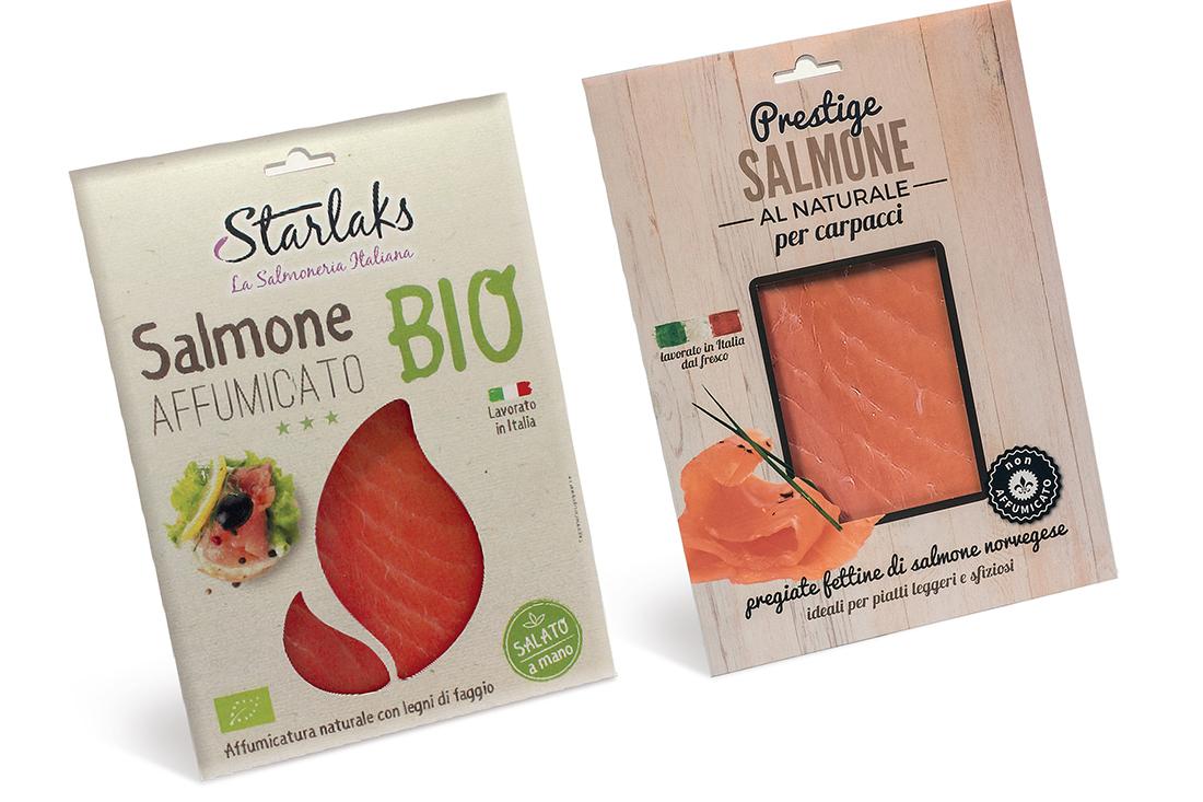 astuccio salmone confezione design progettazione