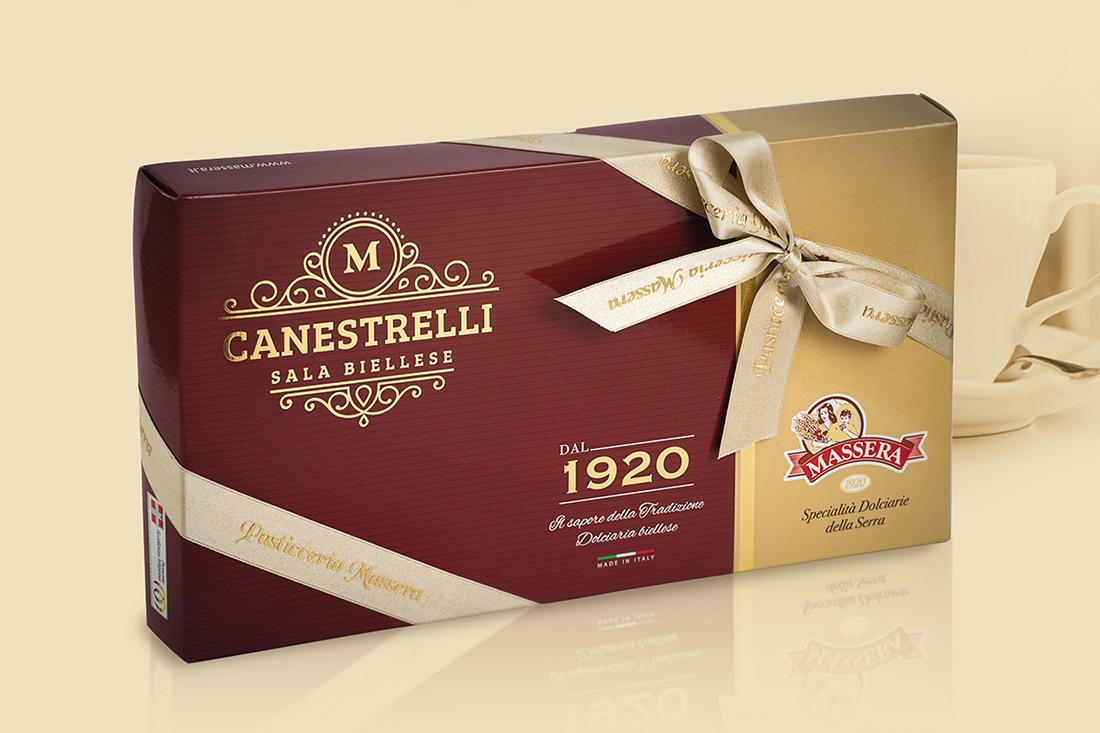 canestrello massera pasticceria cioccolato packaging desgin food