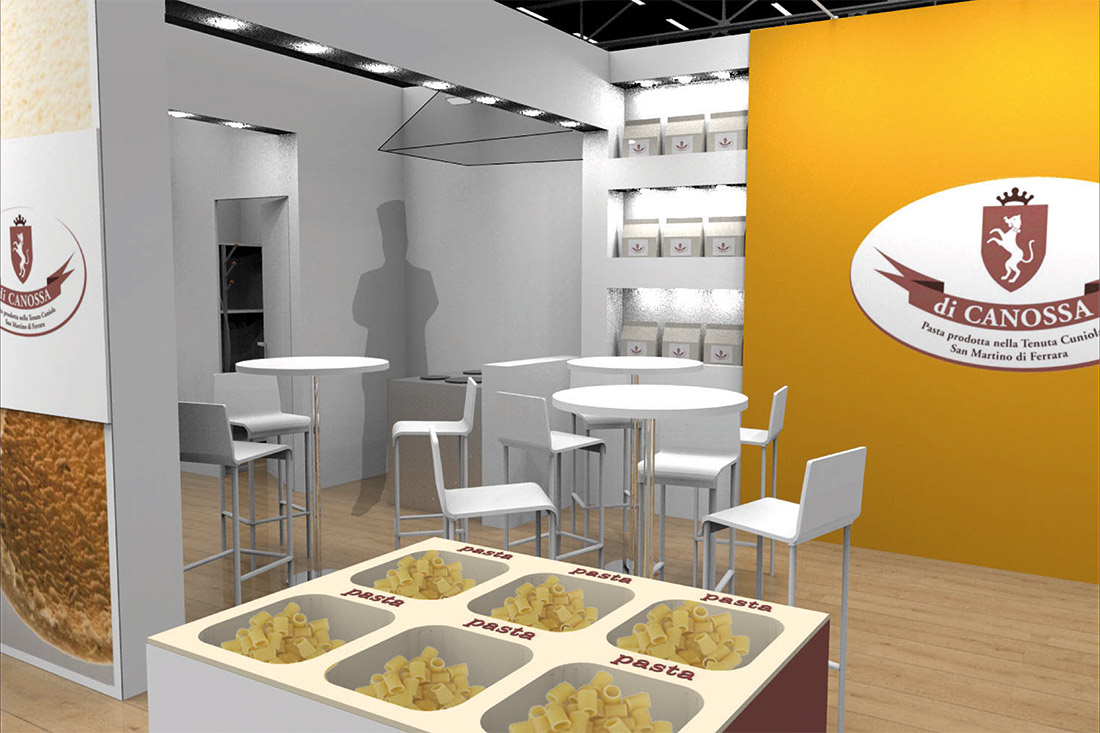 progetto stand tuttofood